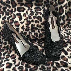 Sparkling Black Adrienne Vittidini Heels